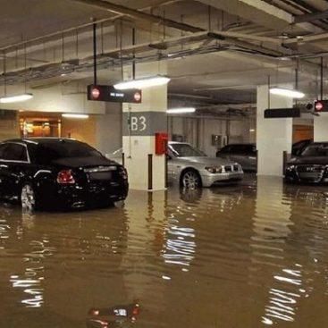 гидроизоляция подземных паркингов